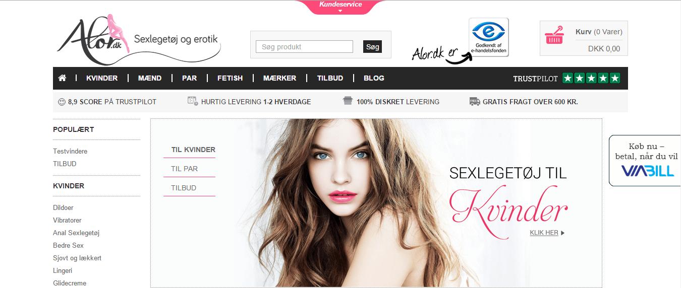 Alor.dk – Fræk Sexlegetøj & Erotik