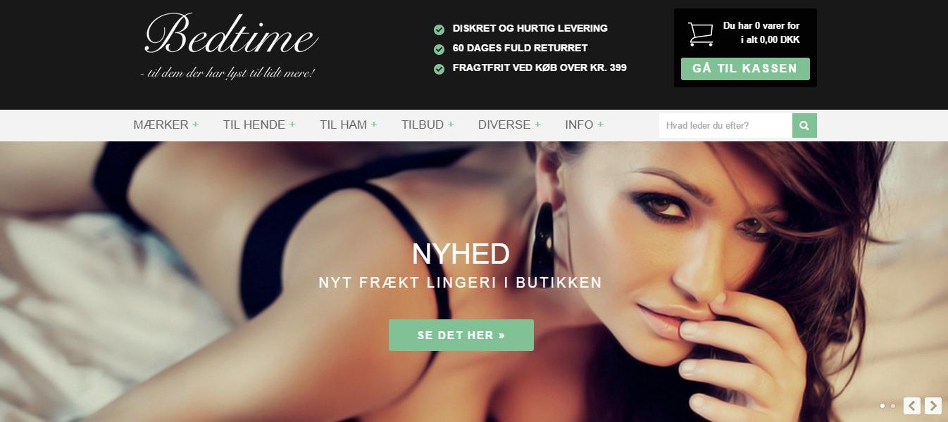 Bedtime.dk – Erotisk sexlegetøj