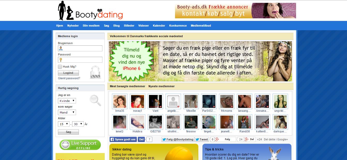 BootyDating.dk – Fræk dating