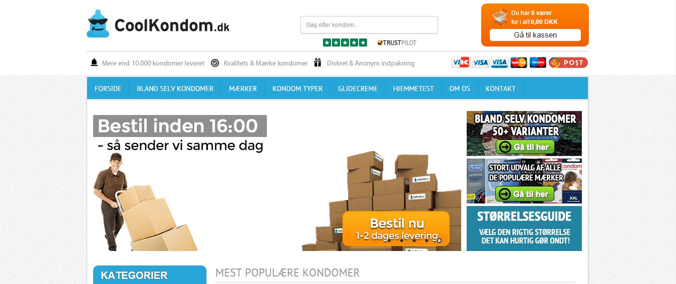 coolkondom.dk – Billige kondomer