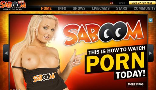 Saboom – Interaktiv Porno Side